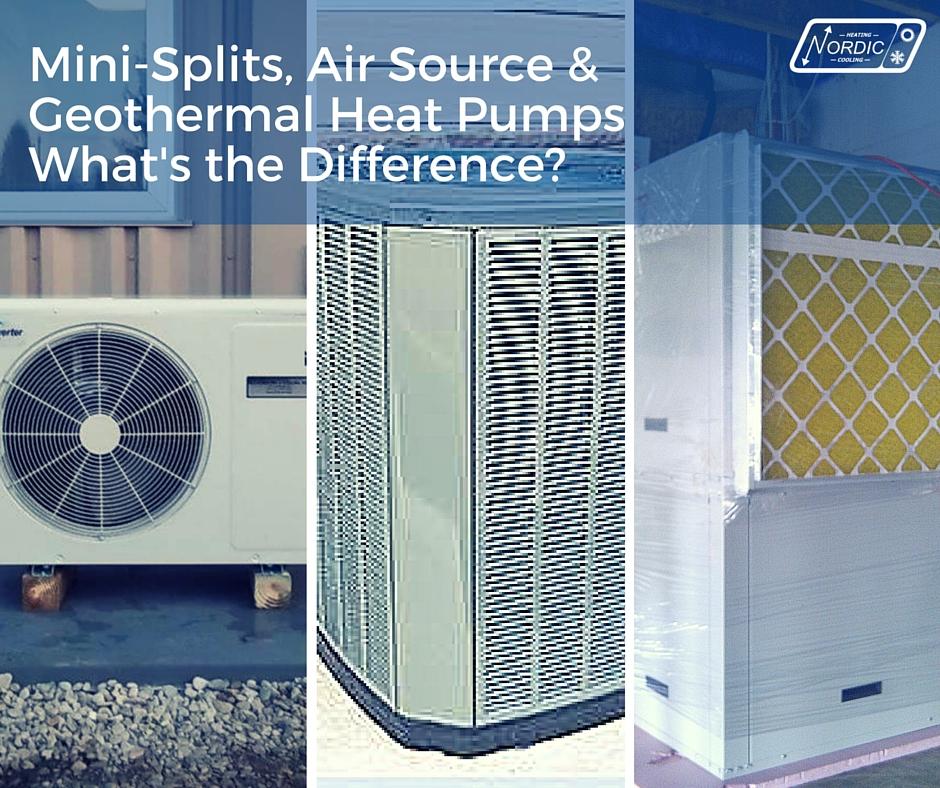 Mini Splits Air Source Geothermal What S The Difference
