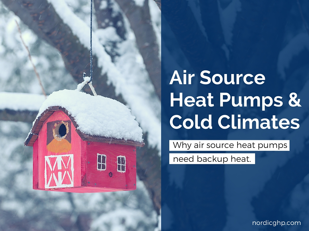 air source heat pumps cold climates